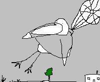 Parachute Bird